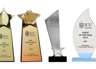 Các giải thưởng mà INEC nhận được từ JCU Singapore